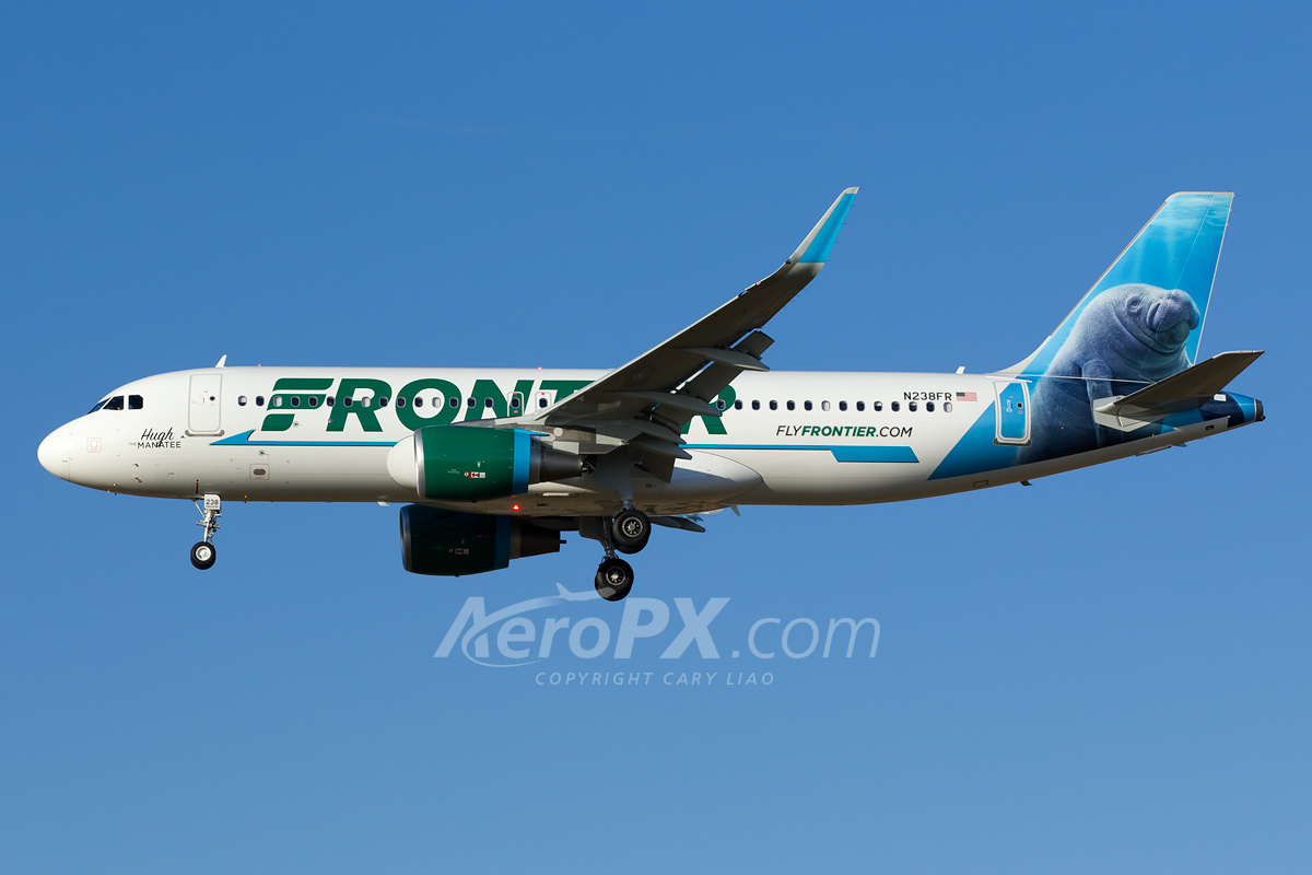 Frontier Airlines Airb...