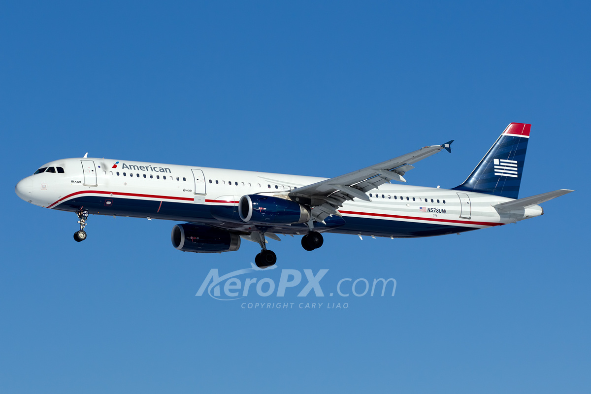 American Airlines Airbus A321-231 N578UW | AeroPX | Aviation