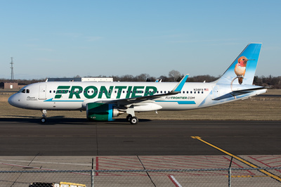 Frontier Airlines Fleet | AeroPX | Aviation Photo Library | Airplane