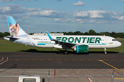 Frontier Airlines Fleet | AeroPX | Aviation Photo Library
